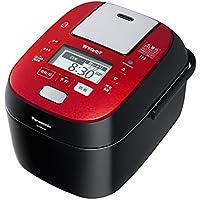 パナソニック 5.5合 炊飯器 圧力IH式 Wおどり炊き ルージュブラック SR-SPX107-RK