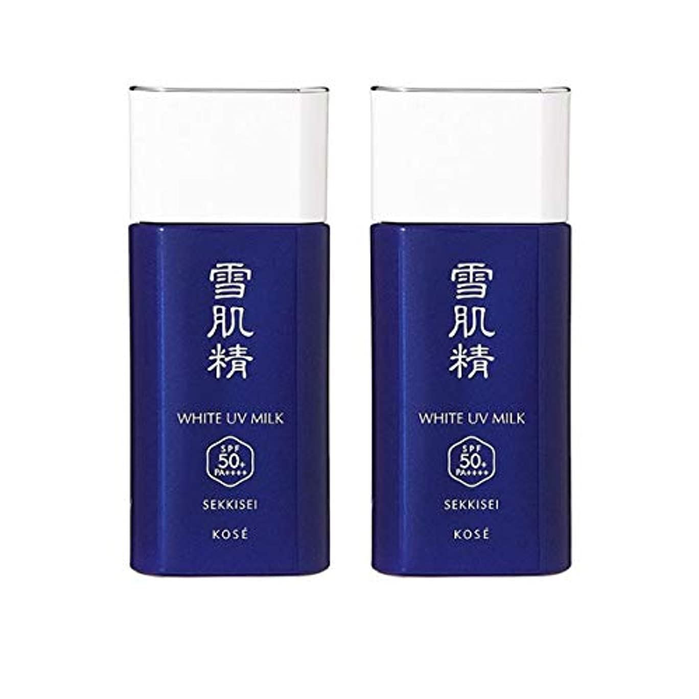 直接乱す豊かな【セット】コーセー 雪肌精 ホワイト UV ミルク SPF50+/PA++++ 60g 2個セット