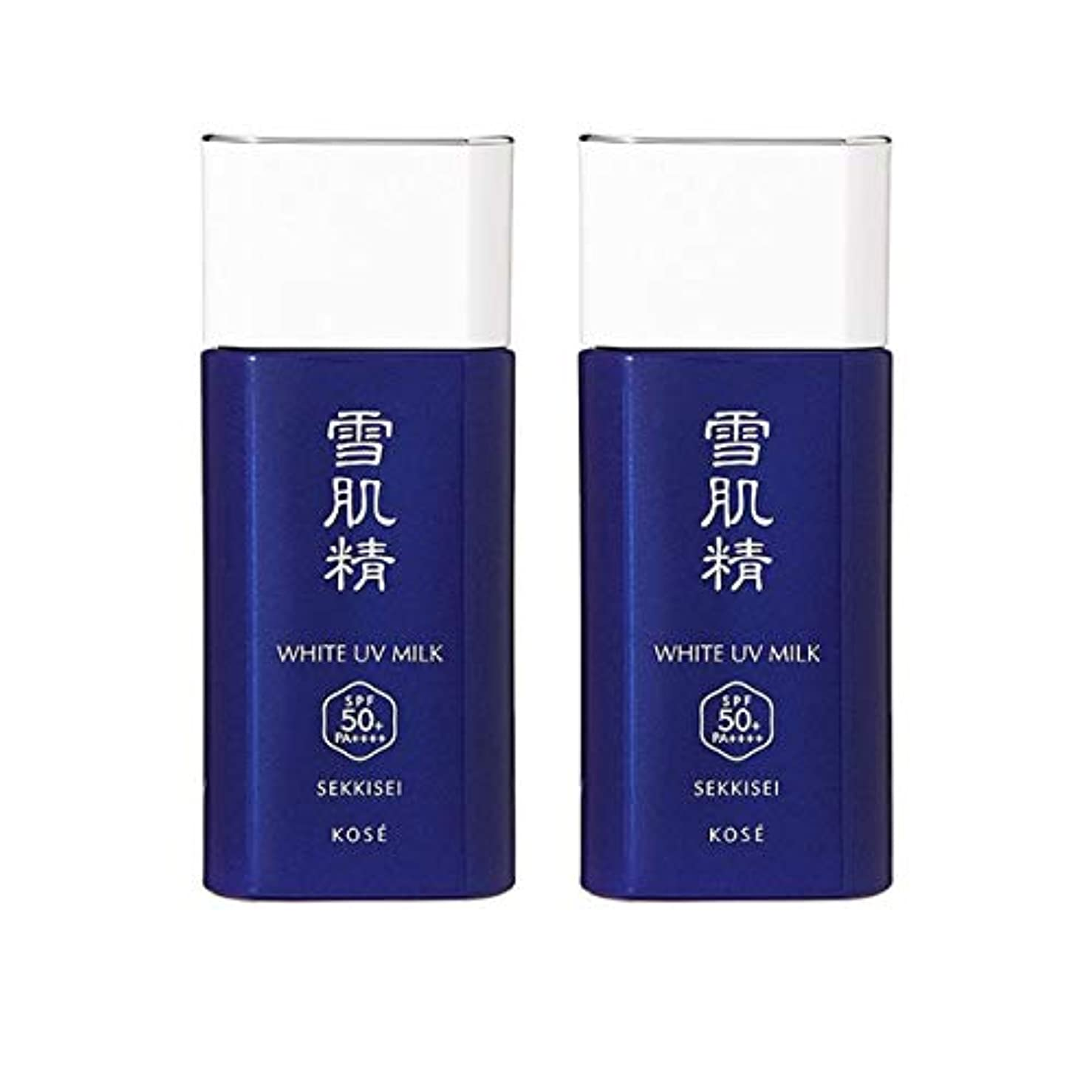 限りなく幻滅邪魔【セット】コーセー 雪肌精 ホワイト UV ミルク SPF50+/PA++++ 60g 2個セット