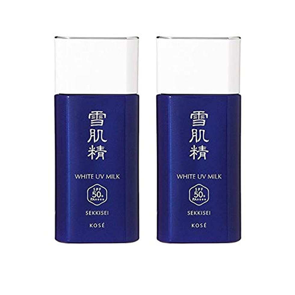 透明に防止技術【セット】コーセー 雪肌精 ホワイト UV ミルク SPF50+/PA++++ 60g 2個セット