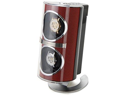 [해외]시계 용품 워찌 와인 2 개의 권선 레드 SR091RD [병행 수입품]/Watch products Watch winder 2 winding red SR091RD [Parallel import goods]