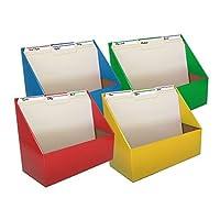 Evelotsフォルダホルダーオーガナイザー、4- Pack , Assorted Colors