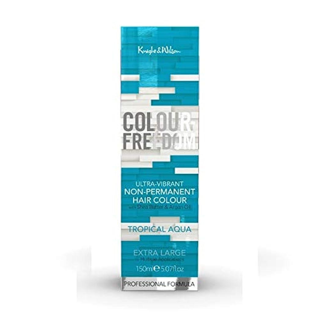 不利アルカトラズ島愛する[Colour Freedom ] 色自由熱帯アクア041 - Colour Freedom Tropical Aqua 041 [並行輸入品]