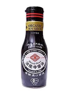 有機JAS 本酵造 JAS特級 濃口 法隆寺醤油 200ml 新鮮ボトル入り 有機大豆・小麦を100%使用