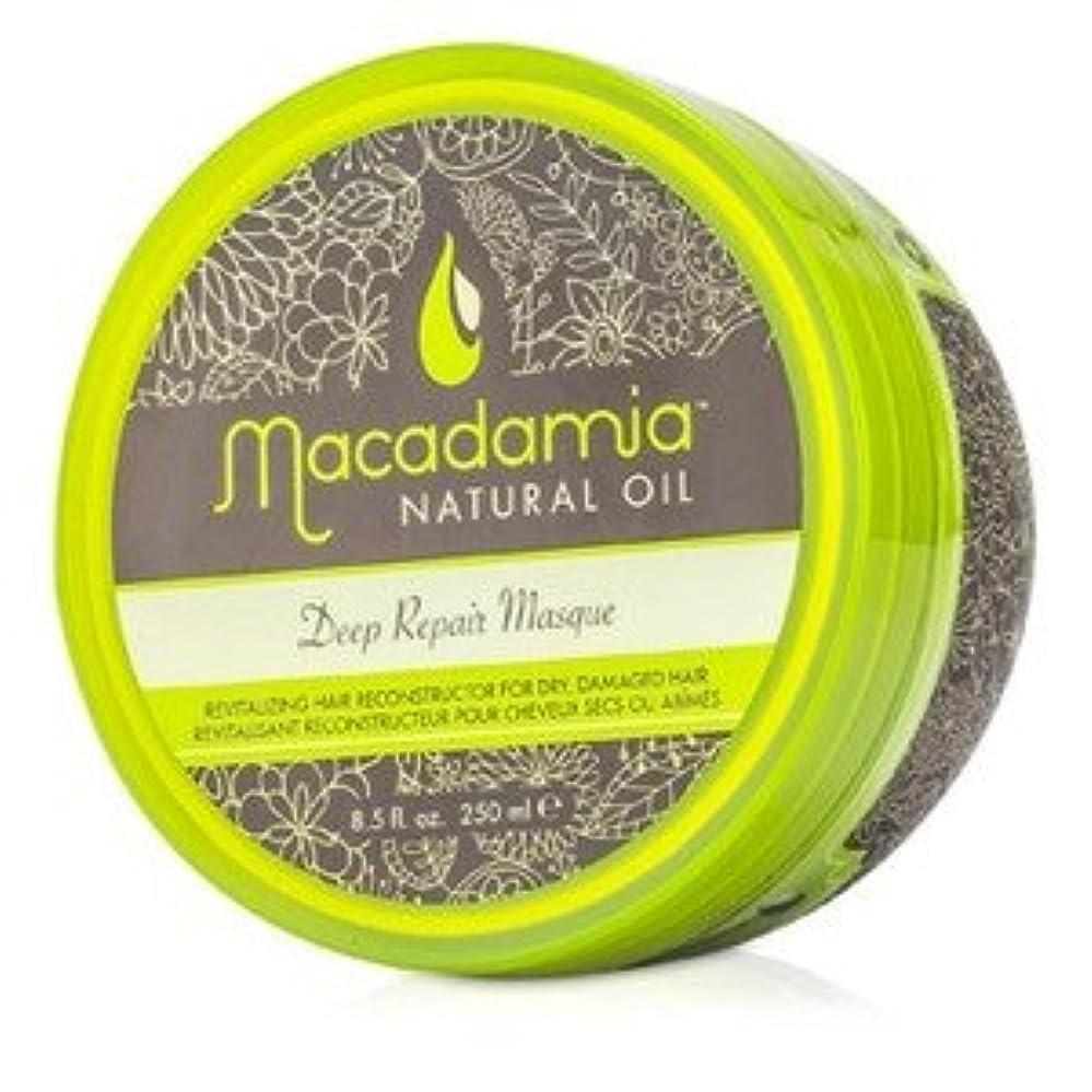 失う哲学急襲マカダミア ナチュラルオイル(Macadamia NATURAL OIL) ディープリペアマスク(ドライ、ダメージヘア) 250ml/8.5oz [並行輸入品]