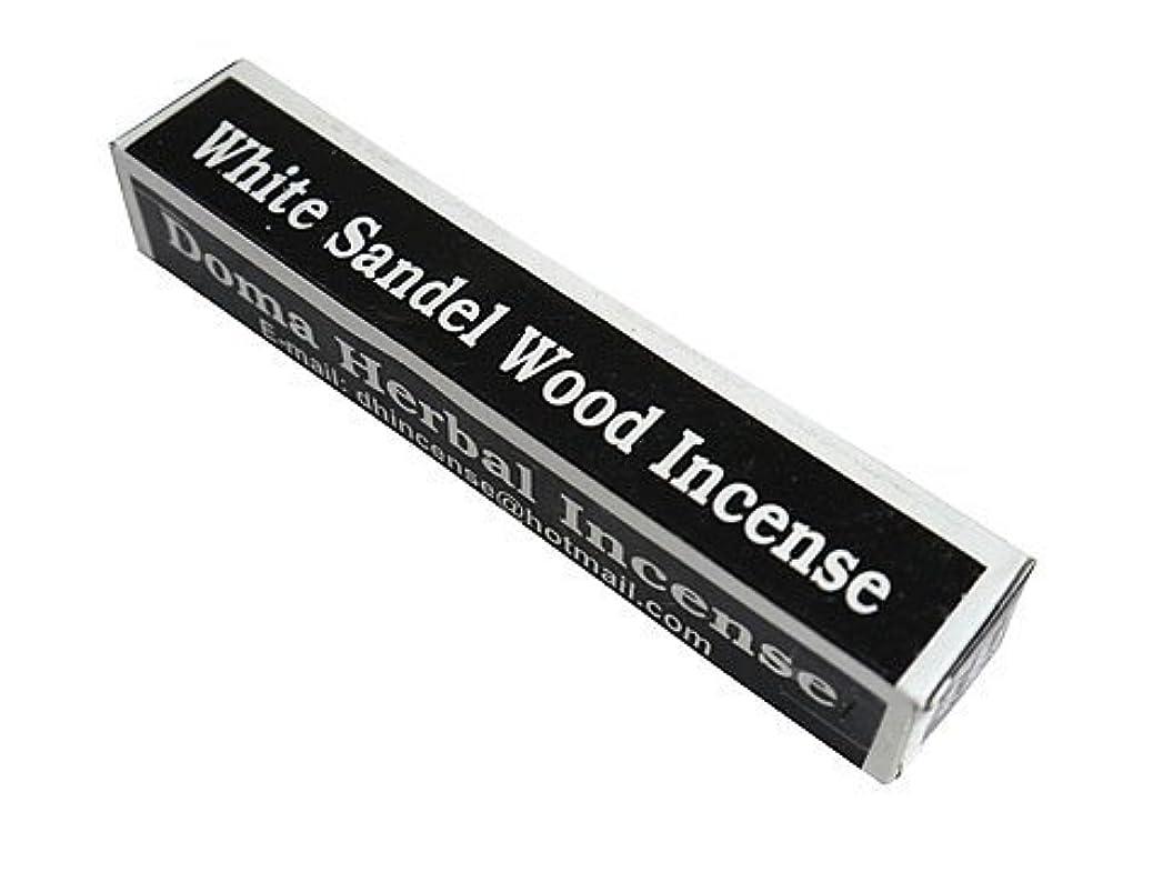 悩みオートスクラッチドマハーバルインセンス Doma Herbal Incense【WhiteSandalWoodIncense ホワイトサンダルウッド】