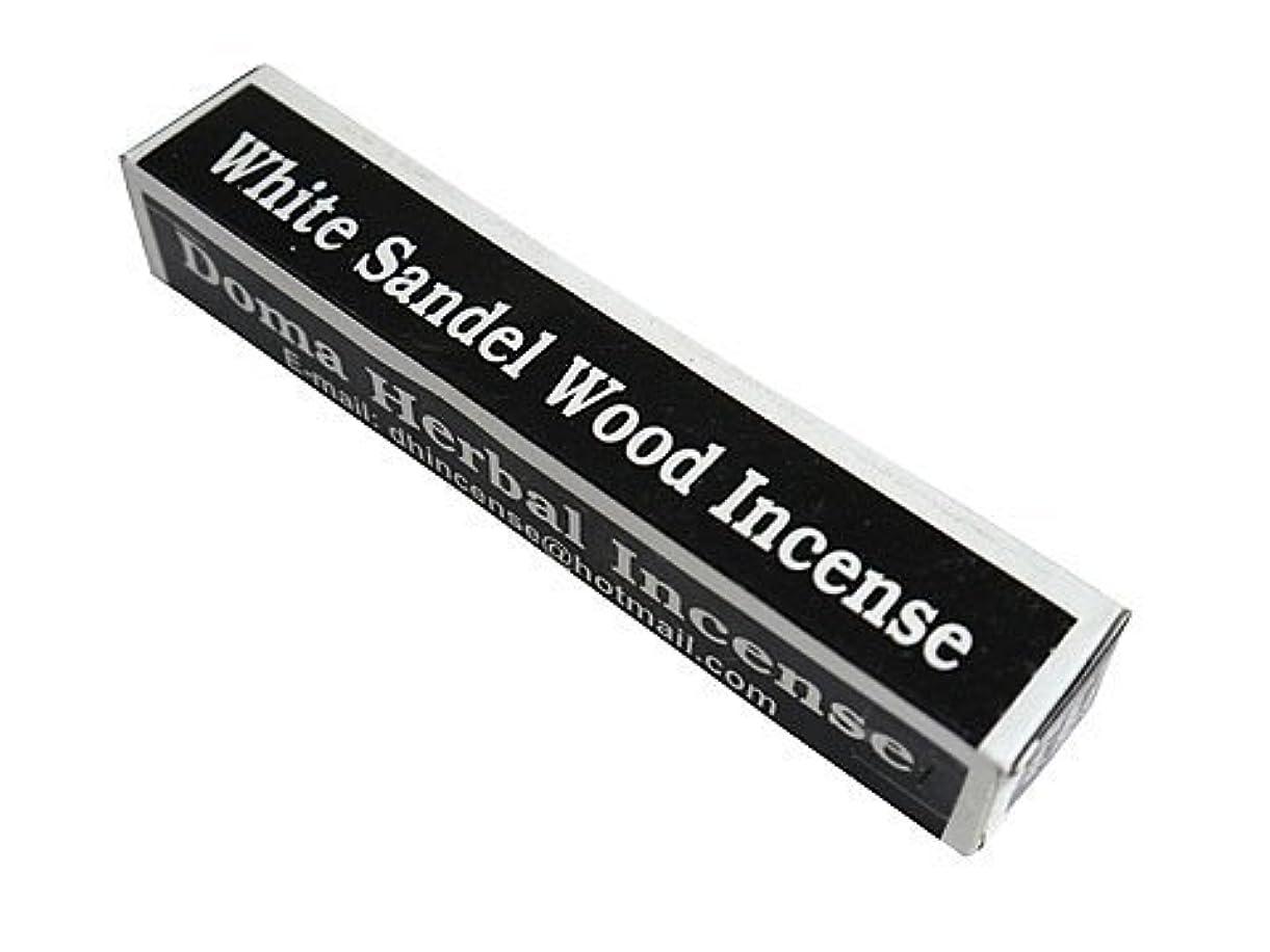 したい支出ぴったりドマハーバルインセンス Doma Herbal Incense【WhiteSandalWoodIncense ホワイトサンダルウッド】
