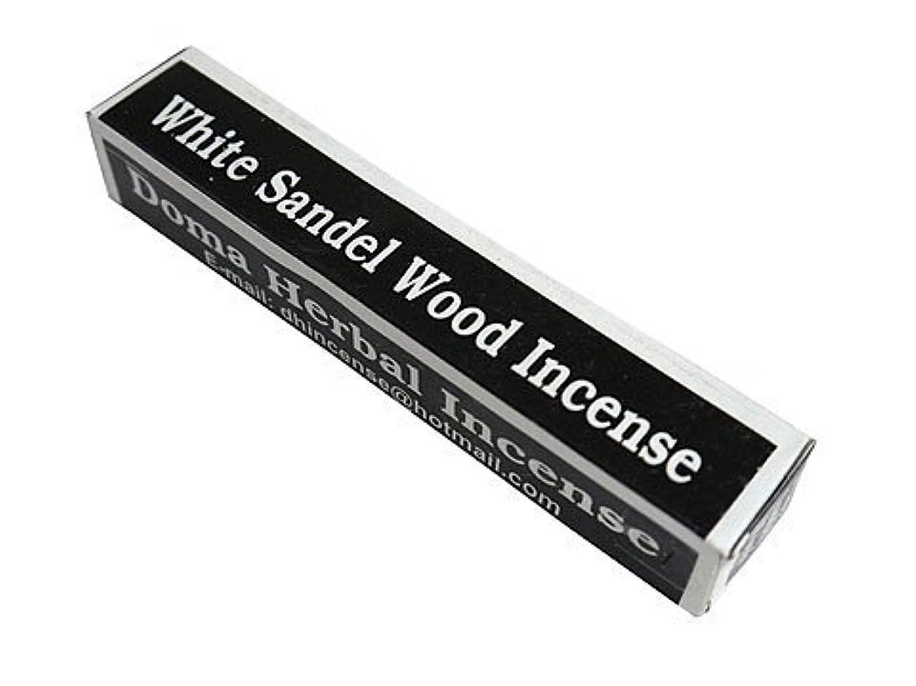 リーク仕立て屋満足させるドマハーバルインセンス Doma Herbal Incense【WhiteSandalWoodIncense ホワイトサンダルウッド】