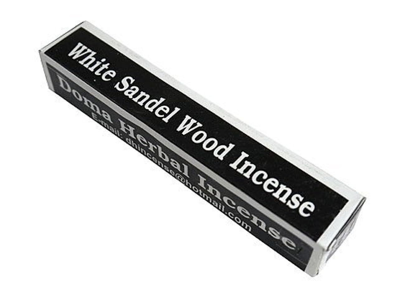 従者光電生きるドマハーバルインセンス Doma Herbal Incense【WhiteSandalWoodIncense ホワイトサンダルウッド】