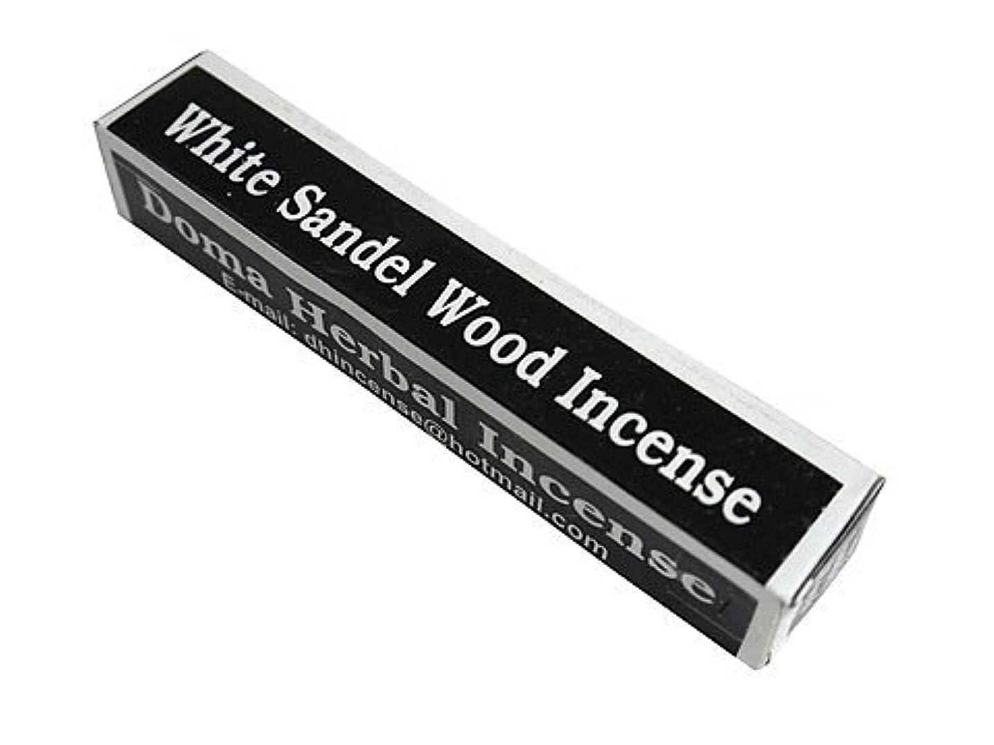フリース比類なきスマートドマハーバルインセンス Doma Herbal Incense【WhiteSandalWoodIncense ホワイトサンダルウッド】