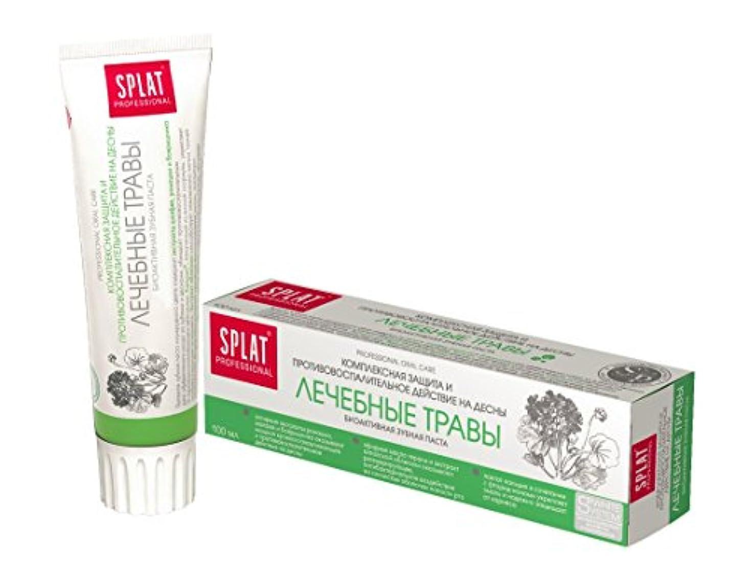 腹更新気配りのあるToothpaste Splat Professional 100ml (Medical Herbs)