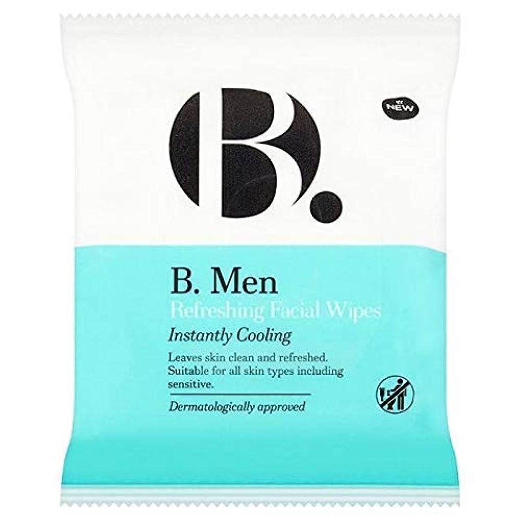 罰するリフト雹[B Men] B。ワイプをリフレッシュ男性 - B. Men Refreshing Wipes [並行輸入品]