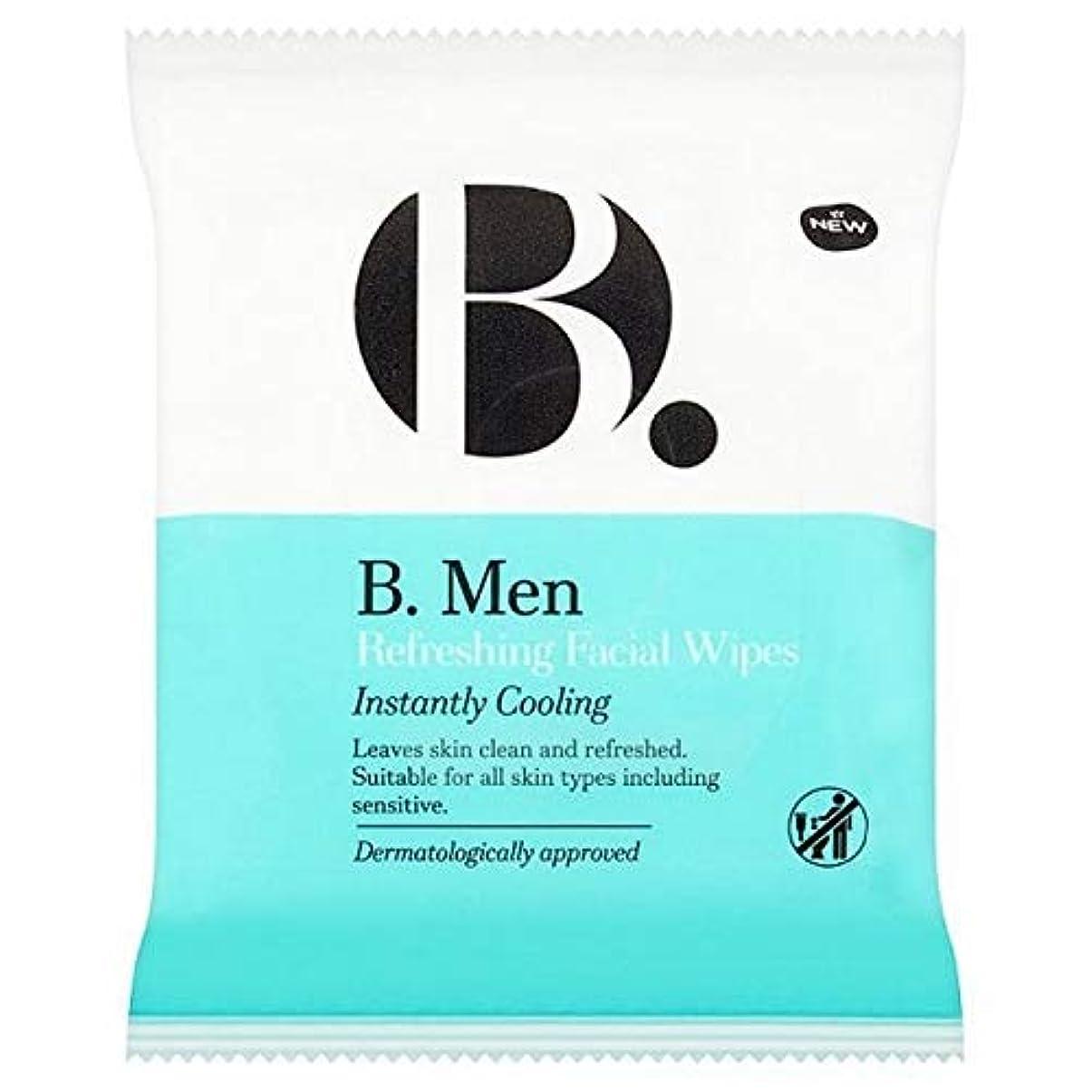 ジャンクション初期の時代[B Men] B。ワイプをリフレッシュ男性 - B. Men Refreshing Wipes [並行輸入品]