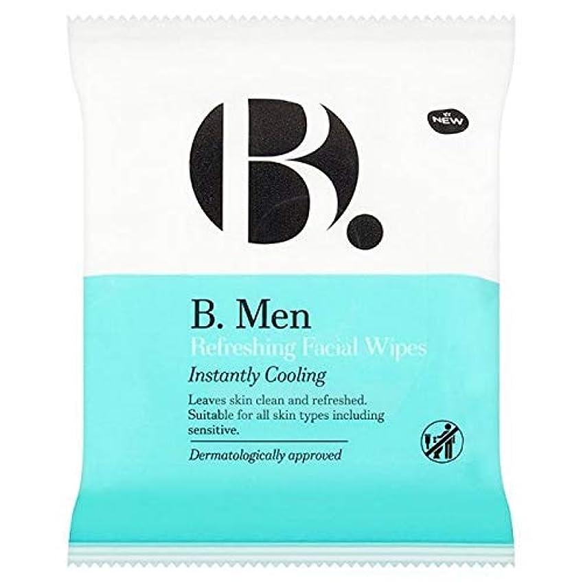 くすぐったい彼ら偏心[B Men] B。ワイプをリフレッシュ男性 - B. Men Refreshing Wipes [並行輸入品]