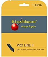 Kirschbaum(キルシュバウム) テニス ストリング Pro Line II black 130 ブラック