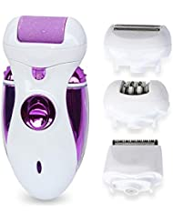 ZHILI 脱毛式女性毛剃り電気足研削機で摘採1多機能女性に付き4を脱毛器女性 (Color : Purple)