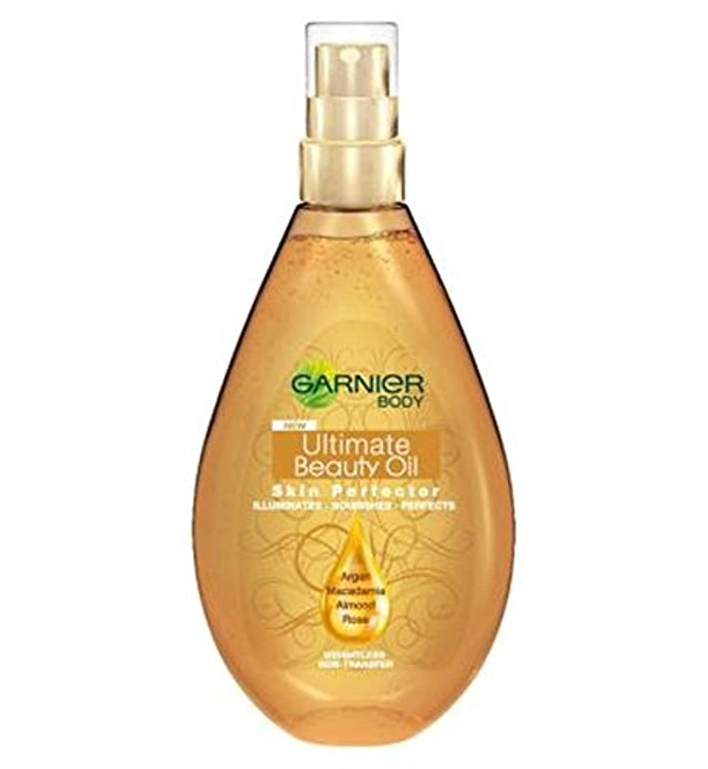 強化する水陸両用メロドラマガルニエ究極の美容オイルスキンパーフェクの150ミリリットル (Garnier) (x2) - Garnier Ultimate Beauty Oil Skin Perfector 150ml (Pack of 2) [...