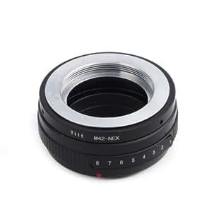 (バシュポ) Pixco マウントアダプター M42マウントレンズ-ソニーNEX Eシリーズカメラ対応 チルトM42-NEX Nex 5N NEX 7 NEX F3