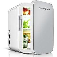 VOKUA 冷温庫 ミニ冷蔵庫 10L 小型でポータブル 家庭 車載両用 保温 保冷 2電源式 便利な携帯式 コンパクト 小型冷蔵庫 日本語説明書