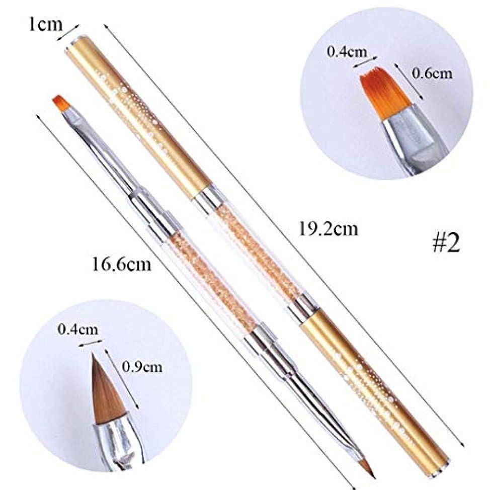 永久膨らみリビングルームOnior 女性のネイルペン、女性ジェルネイルアートブラシセット絵画成形ペンモデリングネイルブラシセットa耐久性と実用的