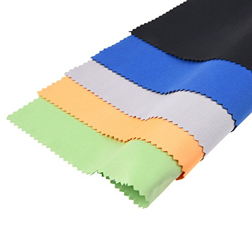 Eco-Fused Large Microfiber Cleaning Cloths - Quickly Remove Fingerprints, Dust and Smudges from Tablet, Tv and Notebook Screens Without Scratches Or Marks