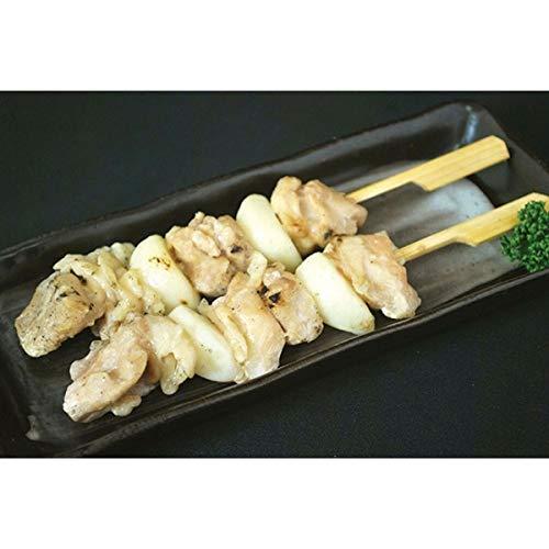 鳥梅) 炭火やきとり ももニンニク串 (素焼) 1.2kg (30本)
