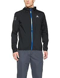 [サロモン] ボナッティウォータープルーフジャケット メンズ BONATTI WP JKT M BLACK/ブラック L40095500