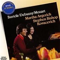 Bartok: Sonata for 2 Pianos & Percussion, Debussy: En Blanc Eet Noir by MARTHA / KOVACEVICH,STEPHEN ARGERICH (2010-09-06)