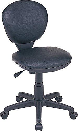 ナカバヤシ オフィスチェア デスクチェア 椅子 合成皮革張り...