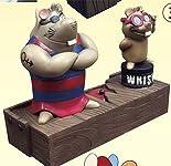 なつかしの東京ムービー フィギュアコレクション ガンバの冒険 (3)信頼セット(ヨイショ・ガクシャ)
