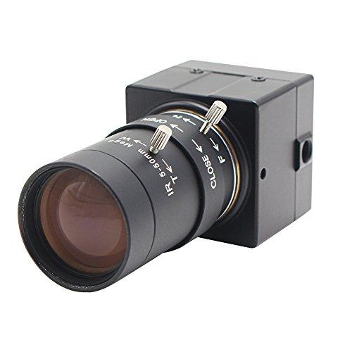 ELP ウェブカメラ 5-50mm可変焦...
