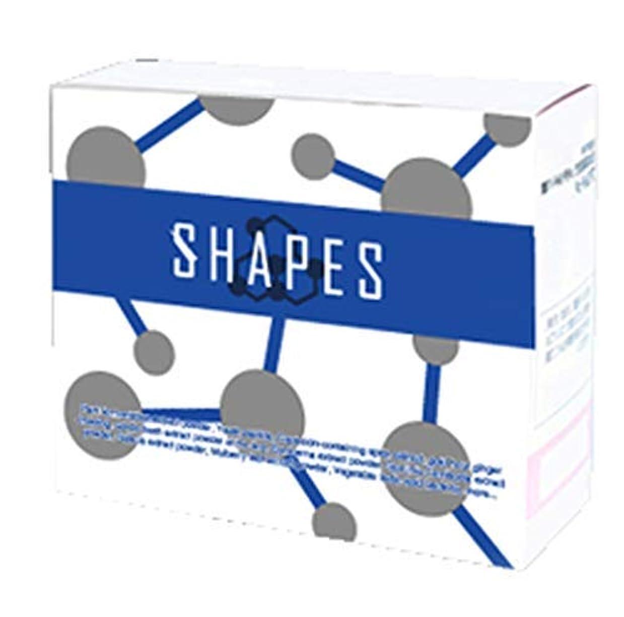 軽パッド曲がったSHAPES 3個セット シェイプス ダイエット サプリメント