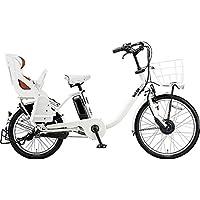 ブリヂストン 電動アシスト自転車 bikke MOB DD BM0B40 E.XBKホワイト 2020年モデル