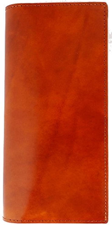 エイジングにこの一本!デキる男のイタリアンレザー高級スタンダード長財布 [ HARVIE&HUDSON 502 ] 誕生日プレゼント メンズ 財布 (キャメル)