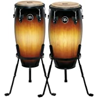 "MEINL Percussion マイネル コンガセット Headliner Series Conga Set 11""/12"" Vintage Sunburst HC512VSB (スタンド付き) 【国内正規品】"