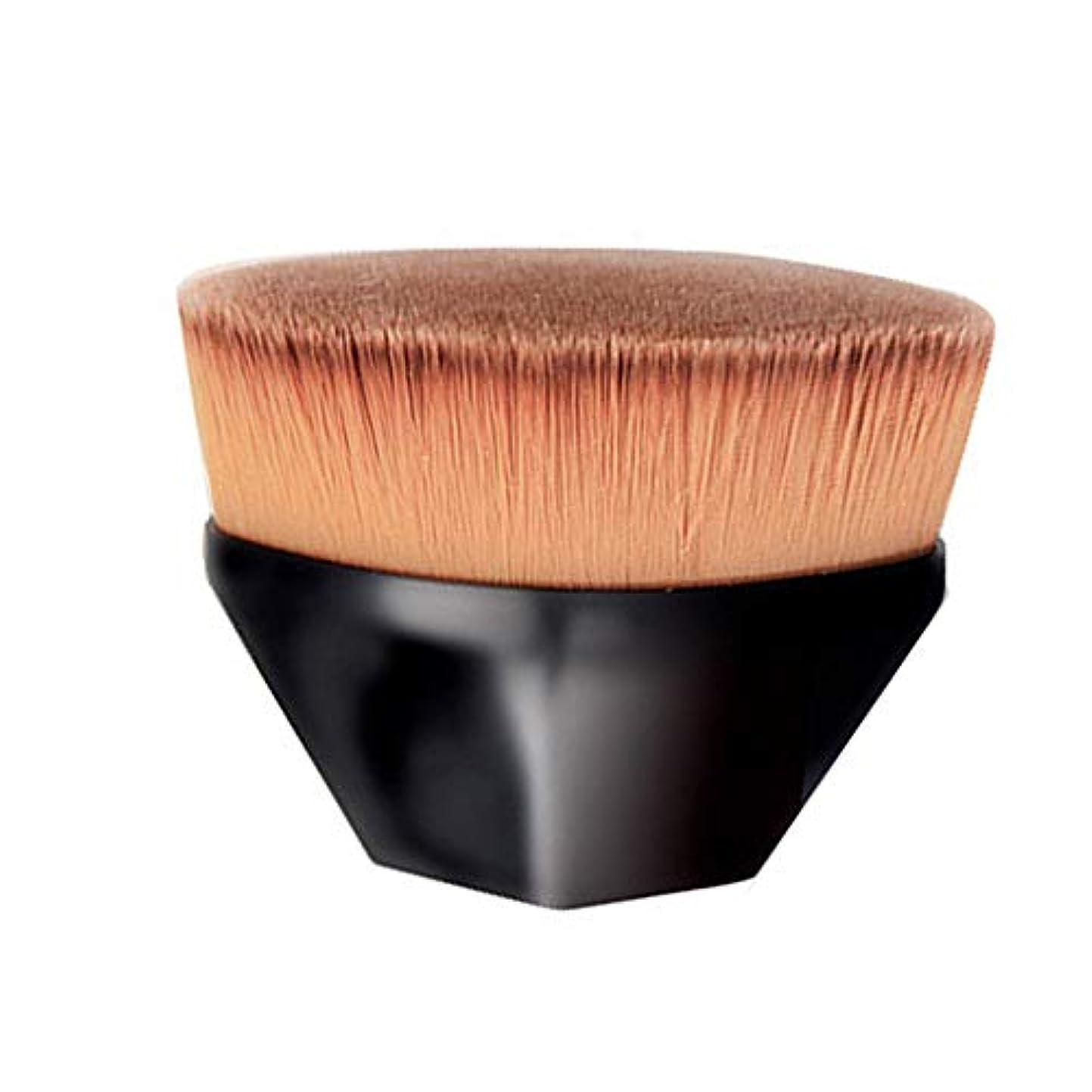 YuJiny メイクアップブラシ 粧ブラシ 可愛い 化粧筆 肌に優しい ファンデーションブラシ アイシャドウブラシ 携帯便利 (ブラック)