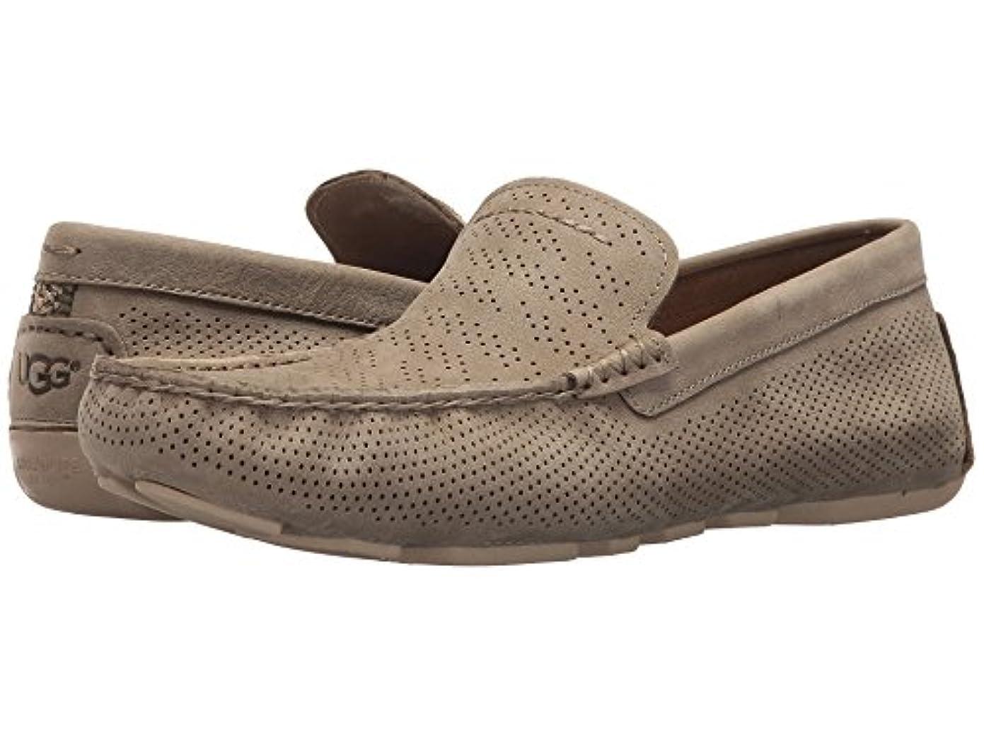 虚偽花に水をやる口[UGG(アグ)] メンズローファー?スリッポン?靴 Henrick Stripe Perf Antilope 12 (30cm) D - Medium