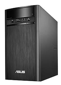 ASUS デスクトップ K31AN (WIN8.1 64Bit / Intel J2900 / 4GB / 500GB / DVD-ROM ドライブ / ブラック) K31AN-J2900
