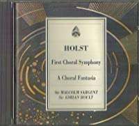 First Choral Symphony./A Choral Fantasia/Sargent/Boult