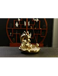 (Style 21) - Gift Pro Ceramic Backflow Incense Tower Burner Statue Figurine Incense Holder Incenses Not Included...
