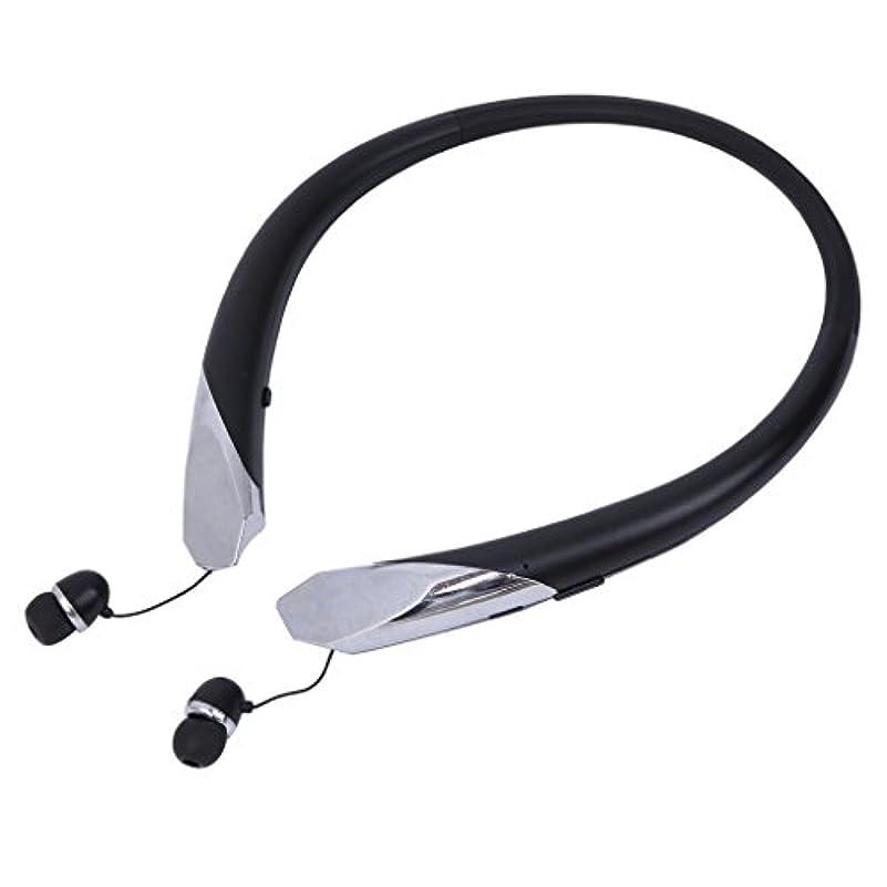 高度を除くアンデス山脈マスタリーBluetoothヘッドフォンネックバンドイヤホンiPhone用ワイヤレススポーツヘッドセットAndroid、ステレオサウンド、ノイズキャンセリング、エクササイズ用イヤーイヤホン