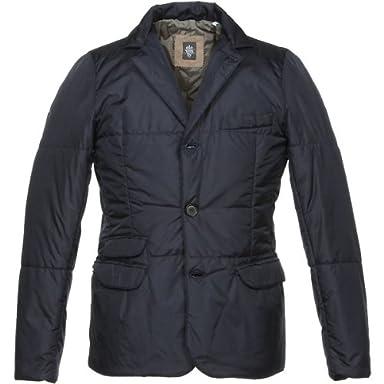 Eleventy Nylon Insulated Jacket: Navy