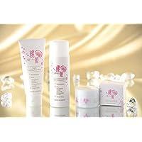 桃姫 トライアルセット (ハラール認証) 洗顔、化粧水、ジェルクリーム Momohime Trial Set (Halal-Certified)