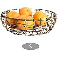 北欧メッキフルーツバスケット貯蔵バスケット創造的な多機能収納バスケットのスナックパンバスケット