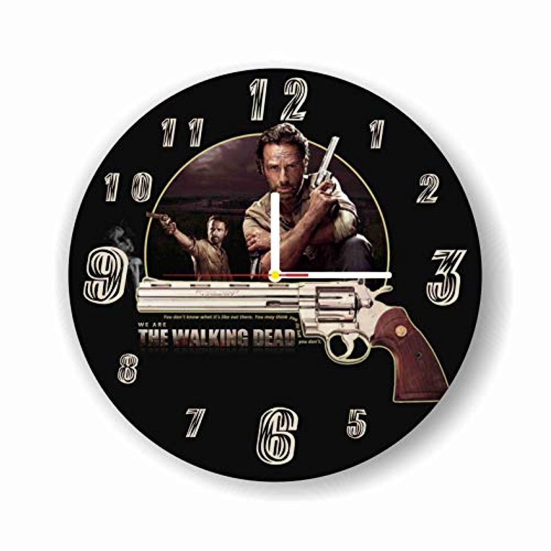 The Walking Dead 11.8'' 壁時計( ウォーキング?デッド )あなたの友人のための最高の贈り物。あなたの家のためのオリジナルデザイン