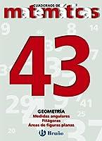 Medidas angulares & Teorema Pitagoras & Areas de figuras planas/ Measures Pythagorean Theorem & Angle & Areas of Plane Figures (Cuadernos De Matematicas)