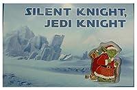 ディズニースターウォーズSanta Yoda 2014クリスマスグリーティングカード&ピン–Theme Park Exclusive