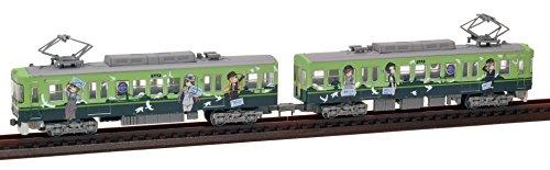 トミーテック ジオコレ 鉄道コレクション 京阪電車 大津線 700形 鉄道むすめ 2015 2両 ジオラ