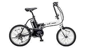 ノ-パンクタイヤ仕様電動アシスト自転車 オフタイム (W+BL)