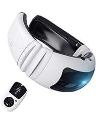 首マッサージャー ネックマッサージャー マッサージ器 首 肩 腰 背中 太もも 肩こり 多機能 ストレス解消 多機能家庭用&職場用&車用 健康グッズ 説明書付き USB充電式 (リモコンタイプ)